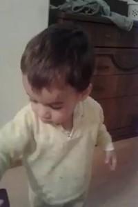 Будущий Дон Жуан Де Марко! Малыш строит глазки!!!