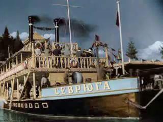 'Волга-Волга' 1936. Сосчитать могу все мели - Володин и Ильинский.mp4