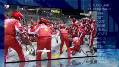 Singapore 2008 - Massa pit