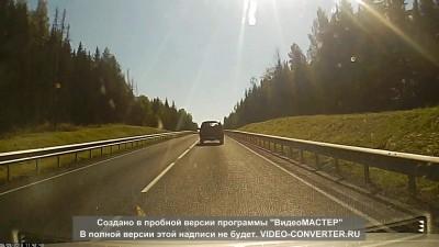 ДТП трасса М-8