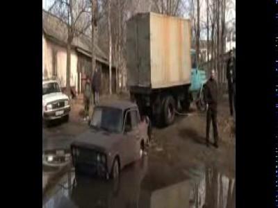 Суровые Северодвинские водители