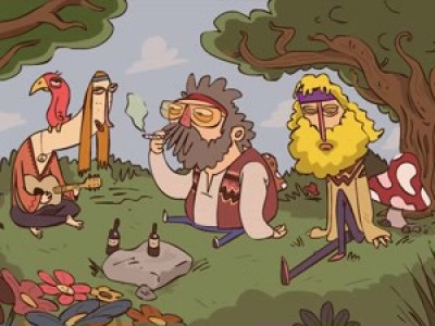 Хиппи / hippies
