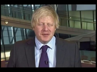 Boris Johnson's greeting