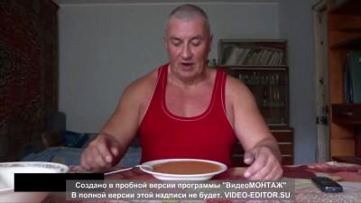 Сколько по времени есть суп вилкой