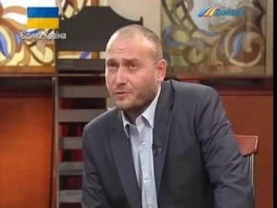 Ярош. Интервью в Донецке. 19.03.2014
