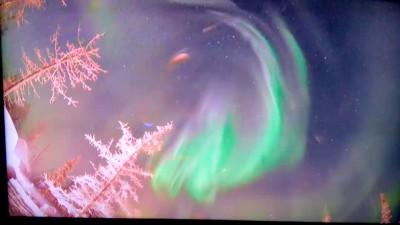 северное сияние 31 декабря