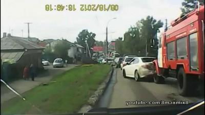Подборка неудержимых грузовиков #6 (Без тормозов)