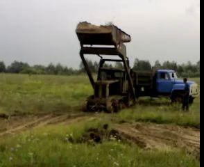 Фронтально-перекидной погрузчик ТЛ-3А