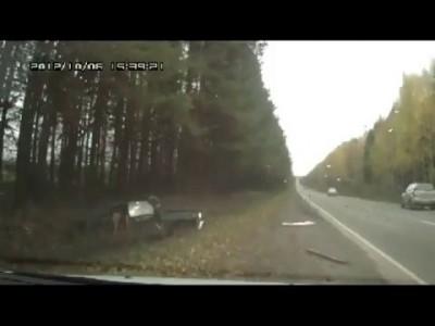 Авария на трассе Ижевск-Воткинск