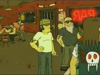 Драк в баре