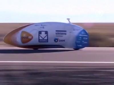 Новый рекорд: на велосипеде со скоростью 134 км/ч (новости)