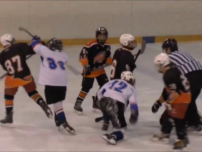 Хоккейная драка!!!
