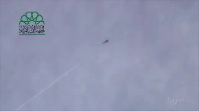 Syria - Helicopter Attacked By The FSA