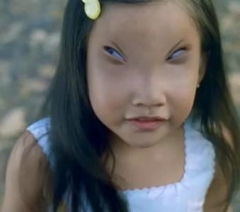 Девочка и ее глаза