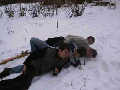 Как мы на лыжах катались