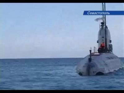 """Подводная лодка """"Запорожье"""" ВМС Украины ушла под воду"""