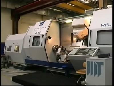 Изготовление коленчатого вала на WFL M60