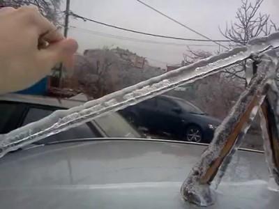 Ледяной дождь, Краснодар