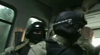 Захваты наркодельцов под экстрим камерой спецназа ФСКН по Московской области.