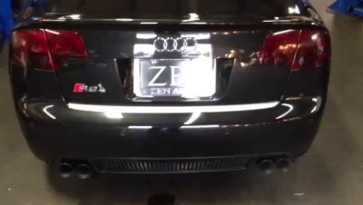 2007 Audi RS4 B7 AWE Tuning Exhaust 2 Zen Auto