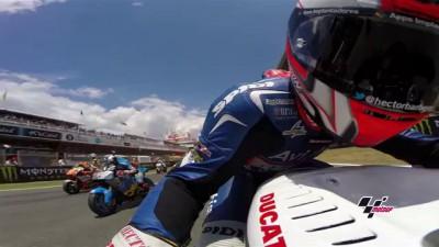 GoPro: Onboard with Team Avintia - MotoGP Round 7 Catalunya, Spain