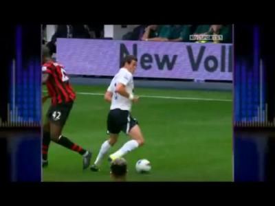 Подборка зрелищных моментов футбола 2011-го года