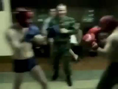 Knockdown in Russian Army