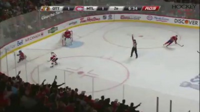 Eric Gryba Hit On Lars Eller - 05/02/2013