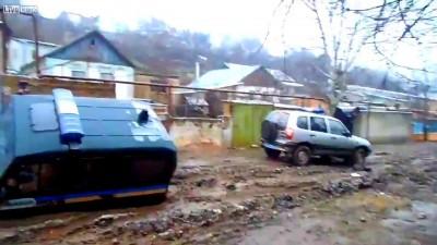 Суровые украинские дороги