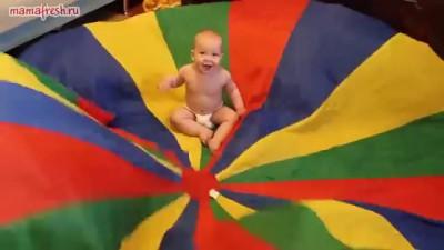 Ребенок на 7 небе от счастья