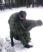 Бойцовый карлик на вооружении российской армии