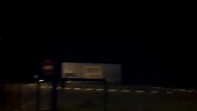 Таможня РФ Изварино в ночь с 20 на 21 июня 2014 года