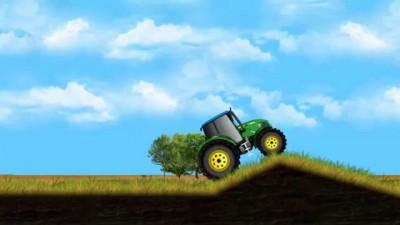 Мультфильм про трактор для малышей. Строительная техника мультики. Мини трактор для детей