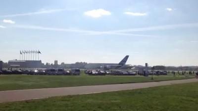 Airbus А 380 взлет и посадка МАКС 2013