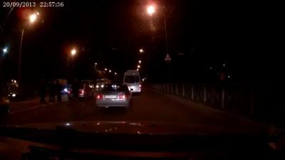 ДТП улицы Бабушкина и Тихая c другой стороны