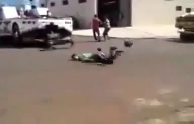 Смерть мотоциклиста .