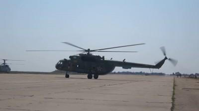 Ми-8МТБМ Рулежка