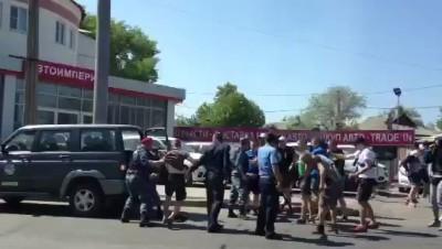 Донецька міліція працює електрошоком