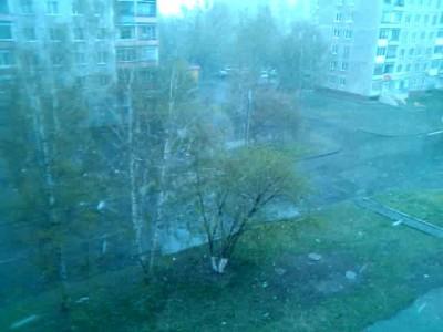 Снег в Барнауле