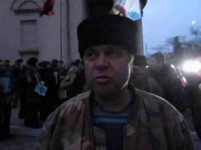 Казак Вячеслав Бебнев