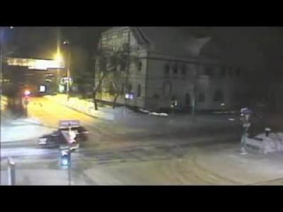 Жуткое ДТП в Перми, видео с уличных камер