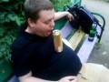 Пиво убегает