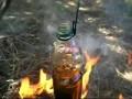 Кипячение воды в пластиковой бутылке