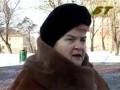 Фанатка Лукашенко. Просто жесть!