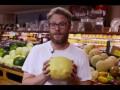 Сет Роген- спрятал говорящие продукты на полки супермаркета.