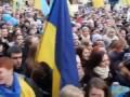 """Школьная линейка в киевской школе: """"Москалив на ножи """""""