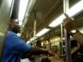 Кулачный бой в американском метро