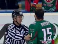 Назаров удален до конца за бросок бутылки в Свитова / Nazarov sent off for Svitov's incident