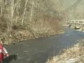 Неудачное начало репортажа на берегу реки