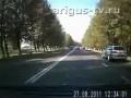Полицейский сбил пешехода и уехал с места ДТП.